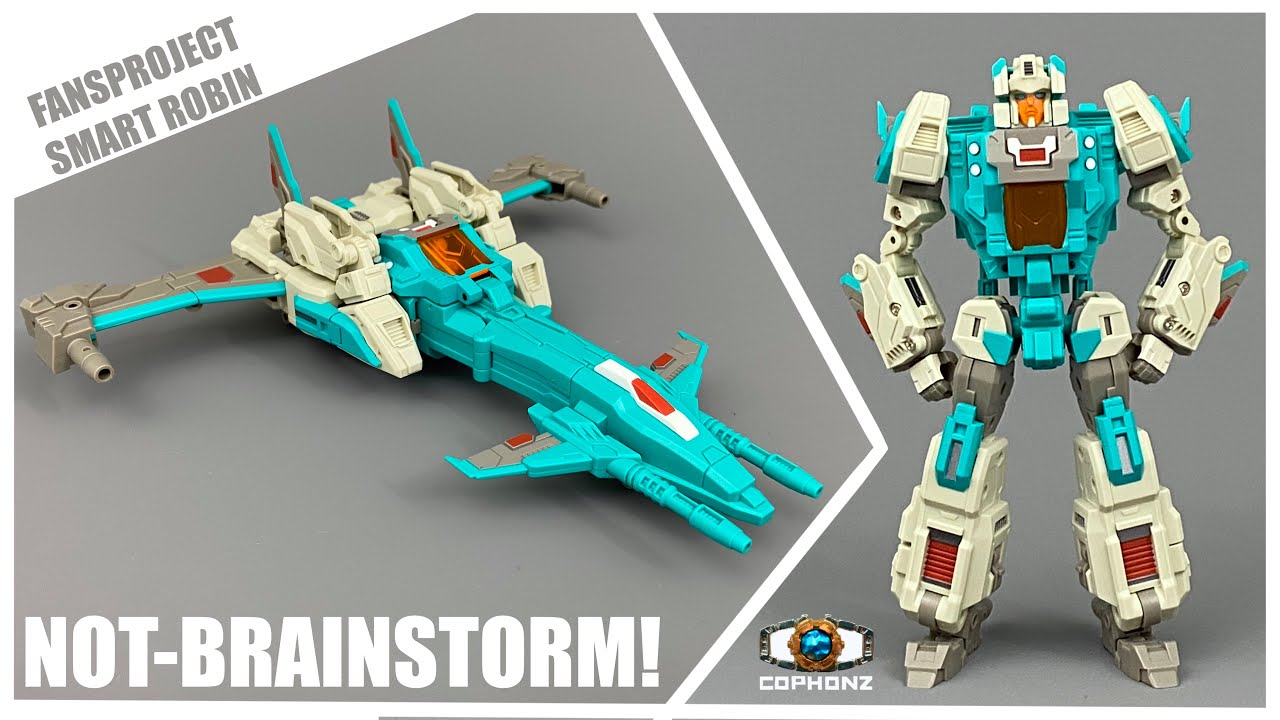 No Words Review of FansProject Smart Robin (Headmaster Brainstorm) by COPHONZ