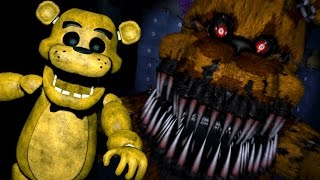 GOLDEN FREDDY PLAYS Five Nights at Freddy s 4 Night 5