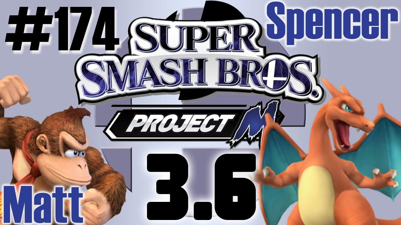 Super Smash Bros: Project M [3.6] Donkey Kong Vs Charizard ...