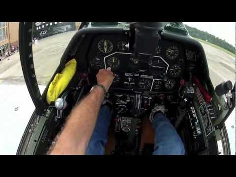 North American P-51C Mustang - Part 2 - Kermie Cam