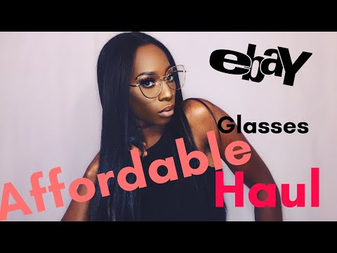 3b2d8f720efd Affordable Glasses From Ebay (Haul Try-On)