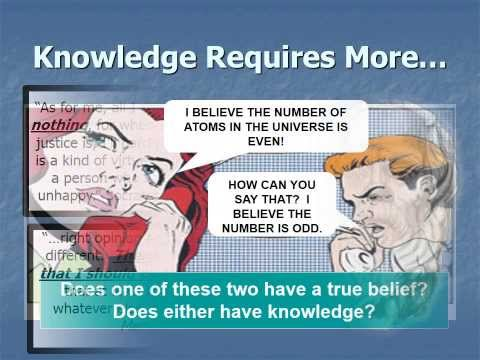 Intro to Epistemology #1: The Nature of Knowledge