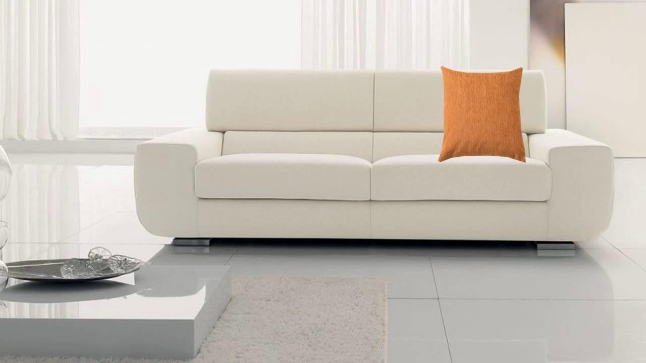 Ideas c mo decorar sof con cojines ideas for decorating Sofas beige con cojines