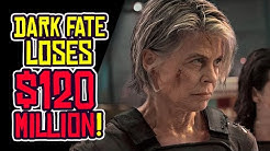 Terminator: Dark Fate Loses $120 MILLION! Rotten Tomatoes GAMED?!