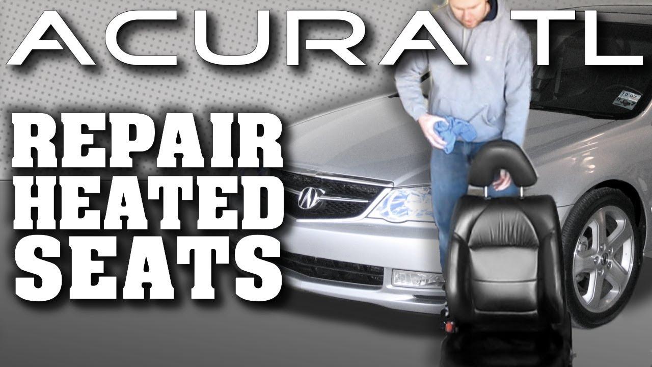 How to Fix Heated Seats | Acura TL (Honda)