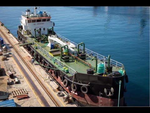 Small Self Propelled Tanker Barge 830 DWT built 1982 in Greece