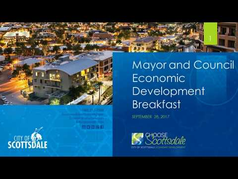 2017  Mayor & Council Economic Development Breakfast