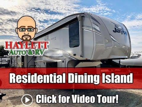 UPDATED 2020 Jayco Eagle 319MLOK Vacation Suite Rear & Outside Kitchen Couple's Fifth Wheel RV