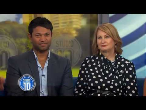 The Family Behind 'Lion': Saroo Brierley's Incredible Story | Studio 10