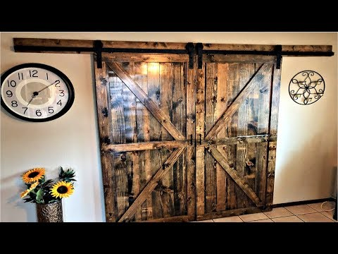 diy-double-sliding-barn-doors