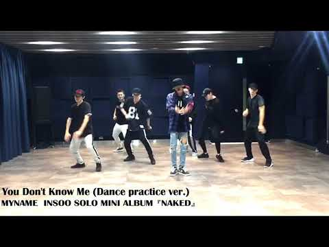 MYNAME INSOO - 'You Don't Know Me' DANCE PRACTICE VIDEO