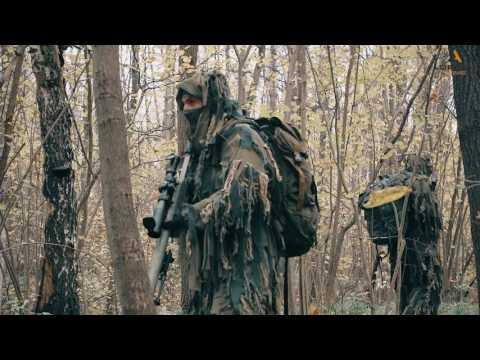 Sniper team in patrol. СГ в дозоре.
