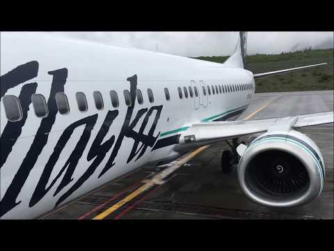 Ketchikan - Wrangell - Petersburg - Anchorage by Air on Alaska Airlines 737-400
