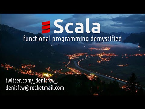 Demystifying functional programming with Scala (in Russian)