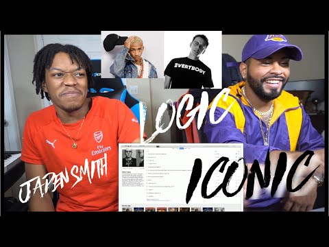 Logic - Iconic ft. Jaden Smith (Official Audio) | FVO REACTION