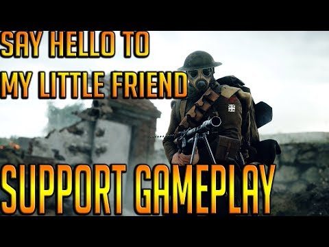 BATTLEFIELD 1 PLAYING SUPPORT CLASS