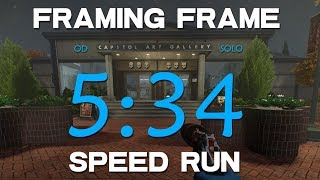 Payday 2 - Framing Frame OD solo Speedrun[WR 5:34]