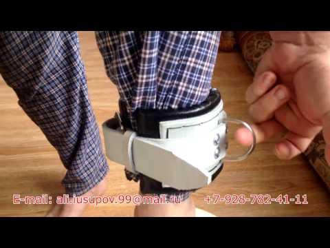 Манжета для тяги кожаная. Манжета на ногу, руку для занятий на тренажерахиз YouTube · Длительность: 5 мин27 с