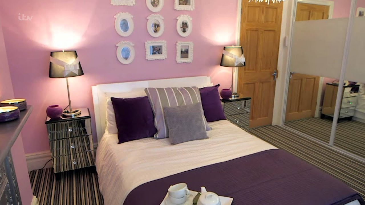 The completed look of wendy 39 s bedroom peter andre 39 s 60 for 60 minute makeover bedroom designs