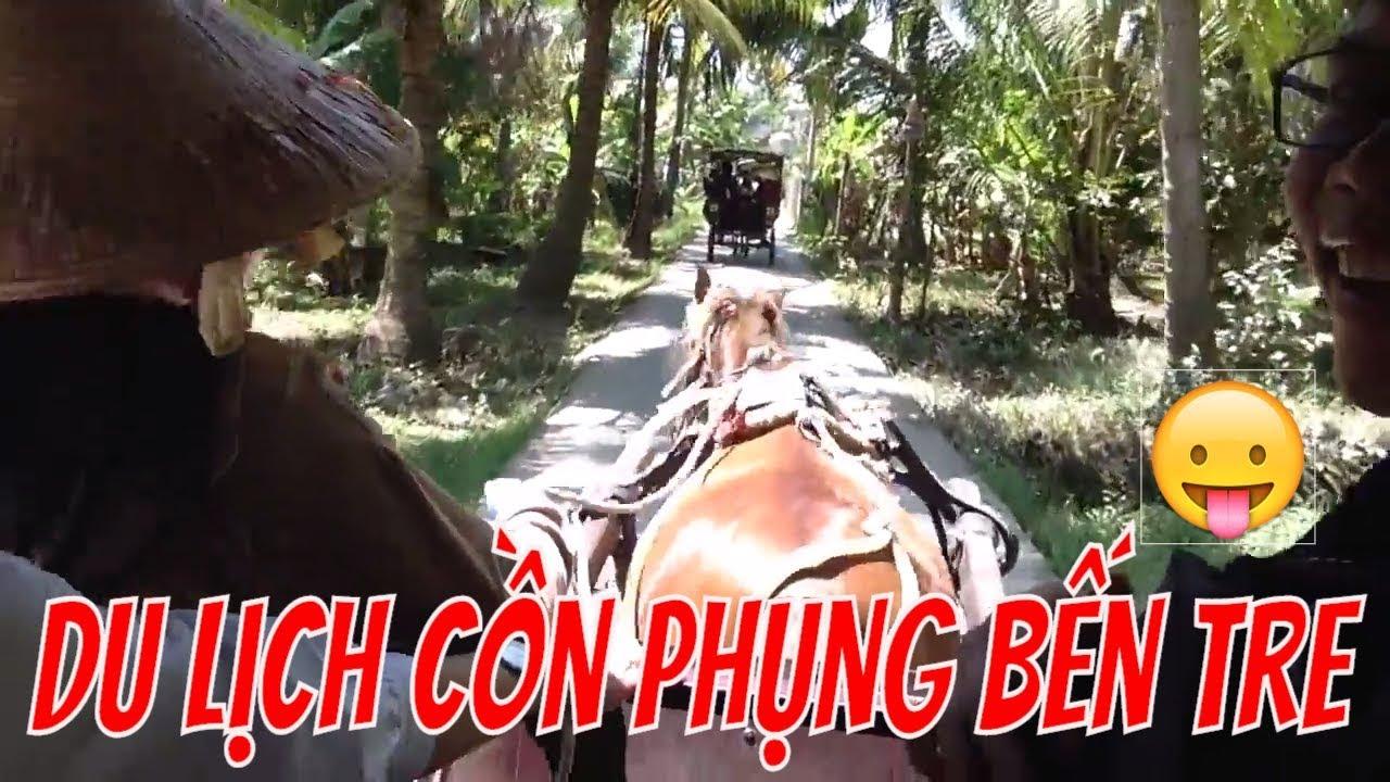 Tham quan khu du lịch Cồn Phụng Bến Tre từ A-Z | Tuấn Anh Vlog |