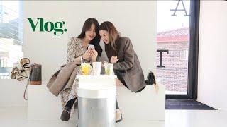 vlog. 추워진 날씨에도 맘은 따수웠던 서울 일상 브…