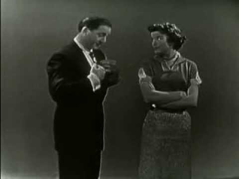 Argument to Beethoven's Fifth  Sid Caesar, Nanette Fabray