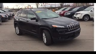 2015 Jeep Cherokee Latitude 4X4 | 2.4L I4 | 9 Speed Automatic| Crosstown Auto Centre