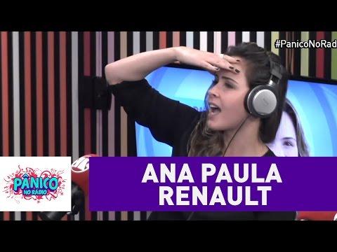 Ana Paula conta história hilária sobre namoro que começou em um Jipe | Pânico