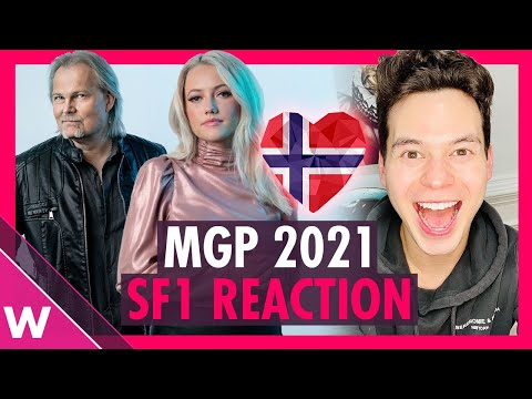 Melodi Grand Prix 2021 Semi-Final 1 (REACTION) | Norway