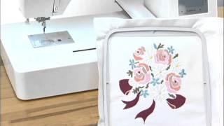 JANOME MC 500E вышивальная машина(, 2015-11-30T15:00:50.000Z)
