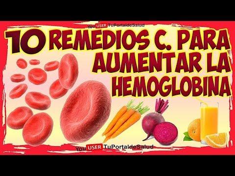 como subir la hemoglobina de forma natural