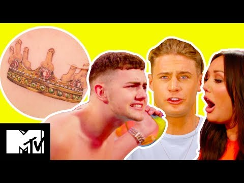 Scotty T Flanters Hard With Ashley Who Gets Served A D*ck Tatt | Just Tattoo Of Us S3 Ep 4