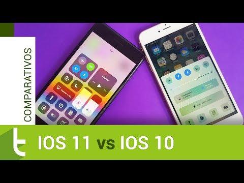 Apple iOS 11 vs iOS 10 | Comparativo do TudoCelular