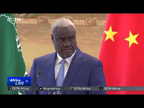 AUC Chair in Beijing for cooperation talks