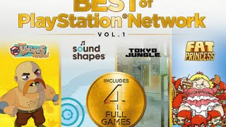 Unboxing Best of Playstation Network Volumen 1 [video 42]