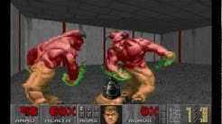 Doom glitch: Barrel explosion causes monster infighting