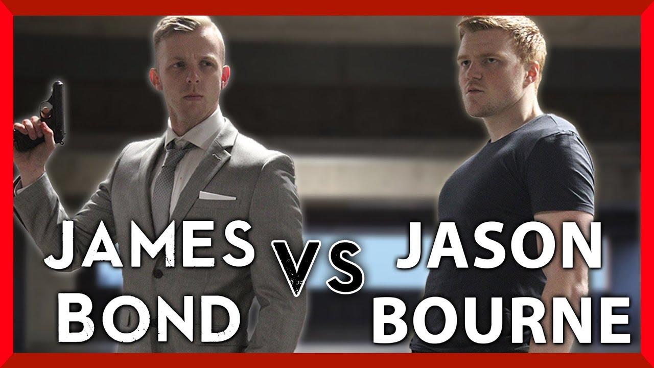 James Bond Vs. Jason Bourne