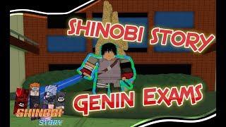 Gambar cover Shinobi Story [MMO]   The Genin Exams! {Re-Uploaded}