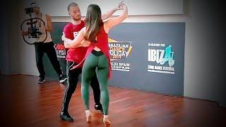 God is a Woman  Ariana Grande Remix  Brazilian Zouk Dance  Oksana Andreeva & Maxim Chistokletov