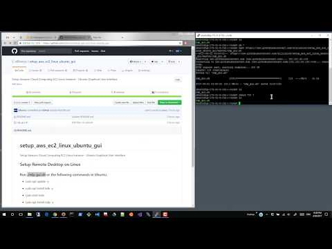 3-minute Tutorial: AWS Linux - How to setup the Graphical User Interface and access it Remotely?