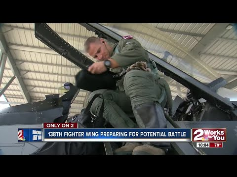 Inside the 138th Fighter Wing in Tulsa