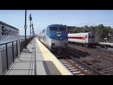 Metro North meets Amtrak at 70 mph