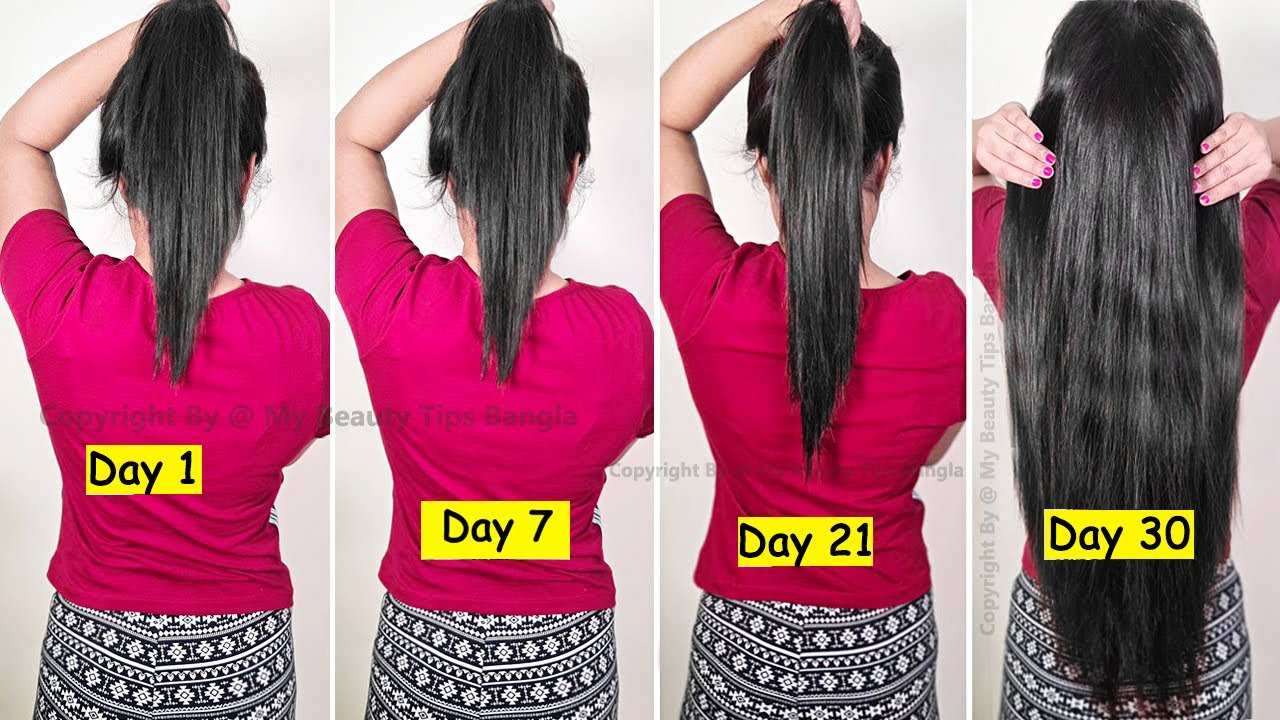 30 DAY CHALLENGE - Faster Hair Growth | World's Best Remedy for Faster Hair Growth