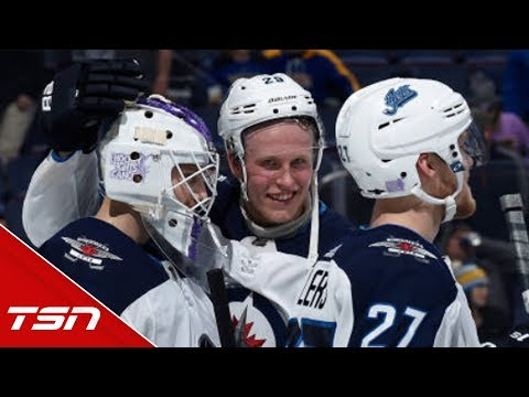 'It's pretty unreal' Laine discusses Selanne tweeting about him