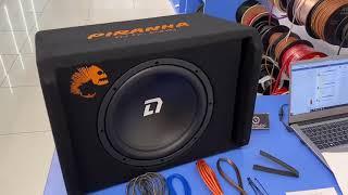Басуха за 8500. Сабвуфер DL Audio Piranha 12A в 2115 🔊🔥