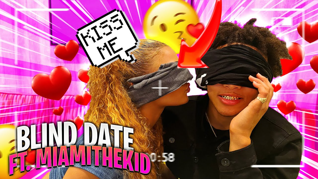 I SET MIAMITHEKID ON A BLIND DATE WITH AN INSTAGRAM MODEL 😍 **HE LIKES HER**