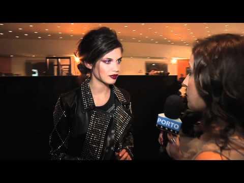 Sara Sampaio no Portugal Fashion 2012