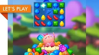 Let's Play - Candy Crush Friends Saga iOS (Level 1 - 10)