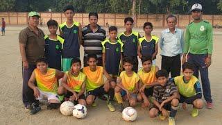 Indian kids play like barcelona fc / junior mughalsarai football club