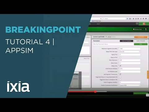 Tutorial 4 Building and Running an Appsim Test on Ixia